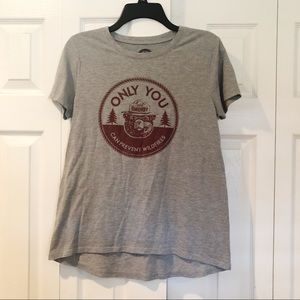 SOLD-Smokey The Bear T-shirt Size L